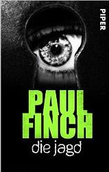 Cover Paul Finch -Die Jagd E-Book