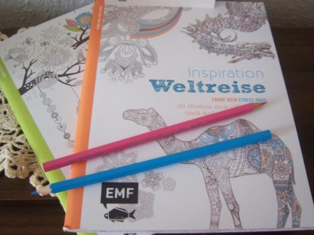 Ausmalbücher aus dem Hause EMF