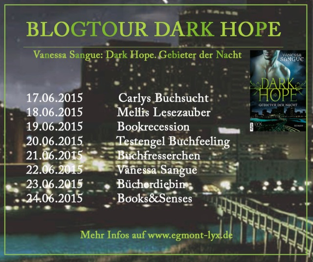 Tourplan zur Blogtour